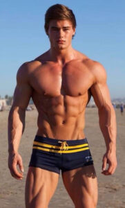 JEFF SEID on the beach
