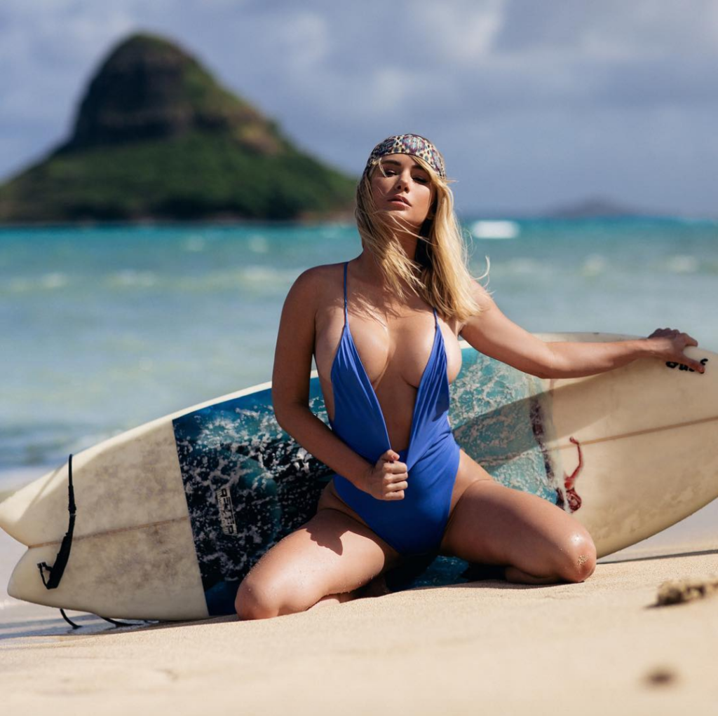 Сара Андервуд (Sara Jean Underwood) fitness model instagram