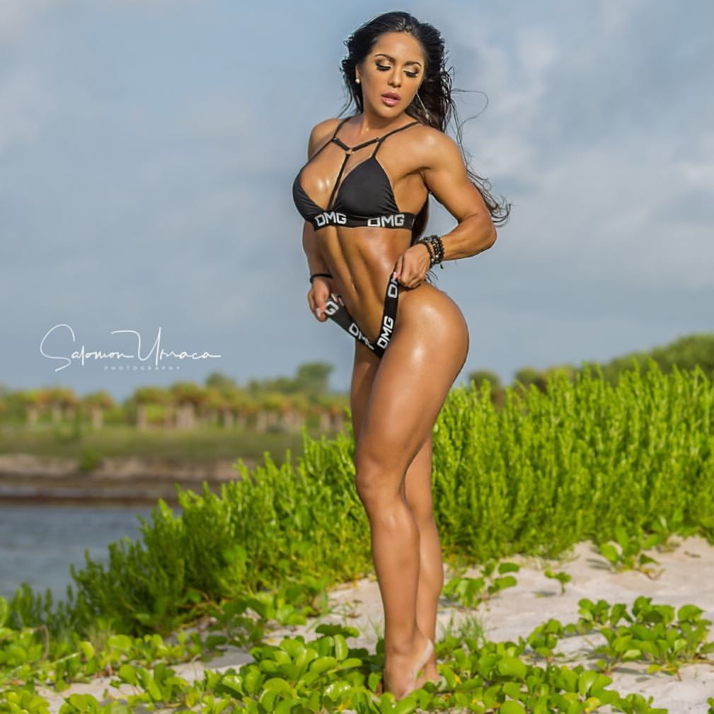 Maria paulette IFBB Pro height, weight, photo, instagram