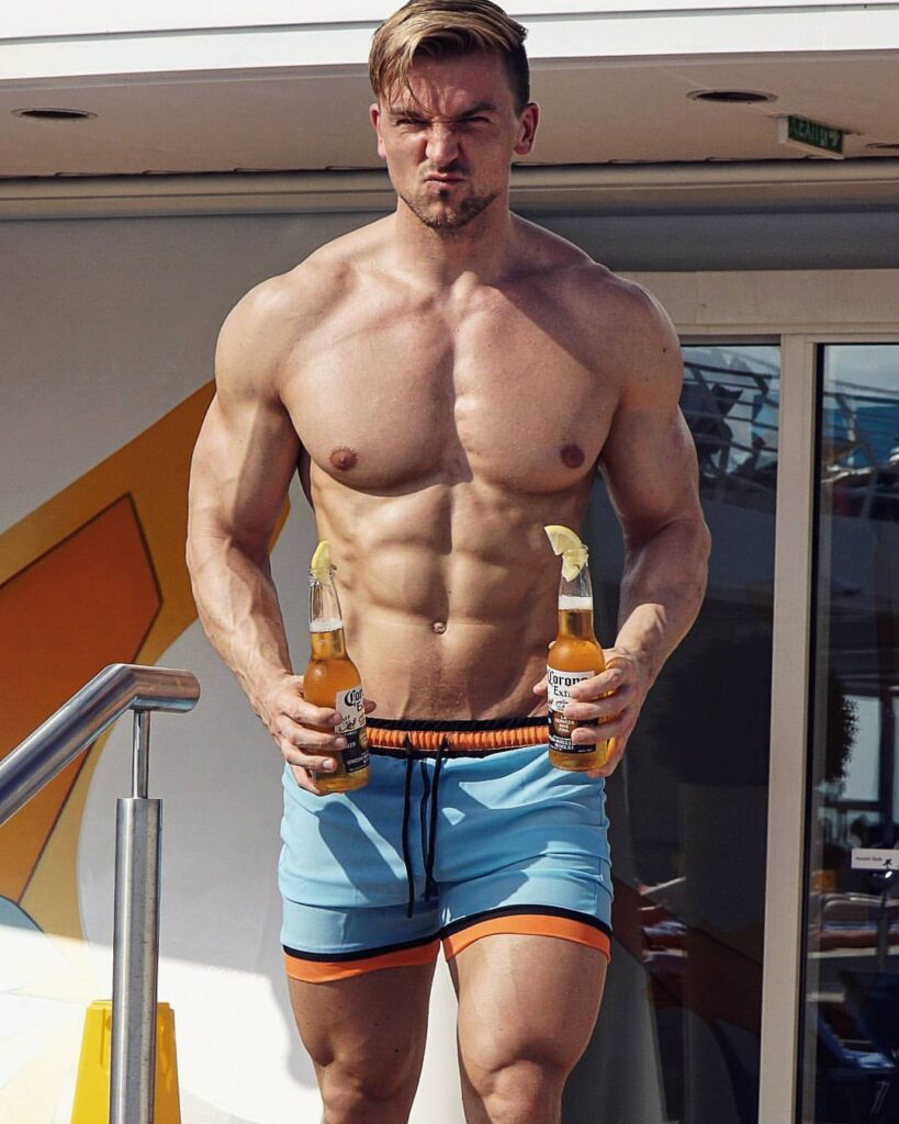 A n d y Düsseldorf Germany FITNESS MODEL, PROZIS, PHOTO, INSTAGRAM