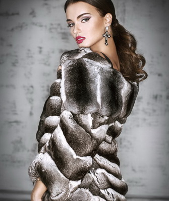 What styles of fur coats are fashionable in autumn and winter 2017-2018? ...