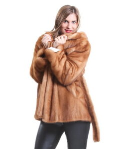 Fashionable colors of mink coats 2017-2018 ...