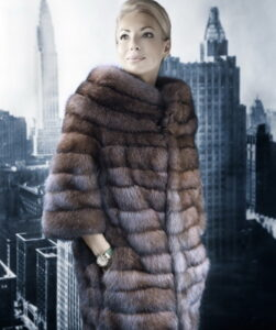 The most fashionable models of coats 2017-2018 from mink and photos of the latest trends ...