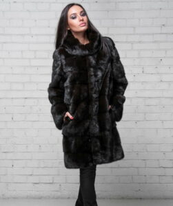 Fashionable styles of mink coats 2017-2018 (  with photo) ...
