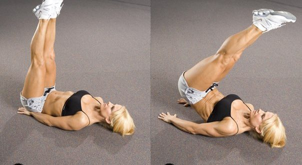 Exercises for the press at home for men of girls and women